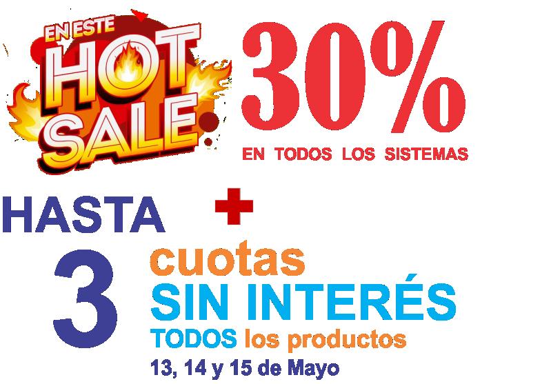 HOT SALE 25% DE DESCUENTO (Click para ver imagen de promoción)